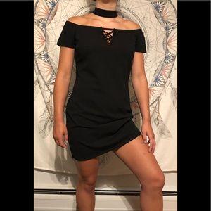 Night out curvy black dress